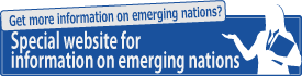 Special website for information on emerging nations